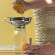 Mason jar funnel with detachable spout