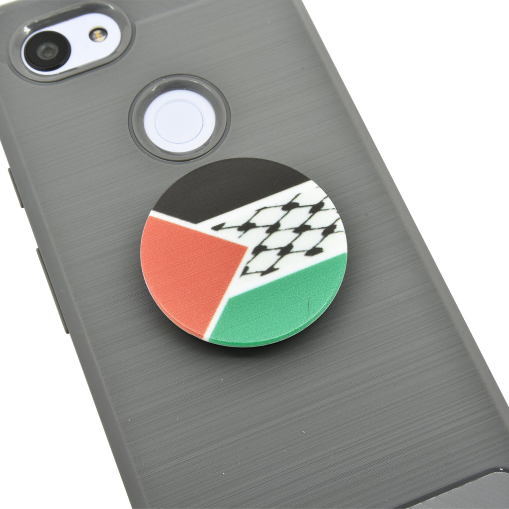 Palestine Kuffiyeh Flag Cell Phone Grip