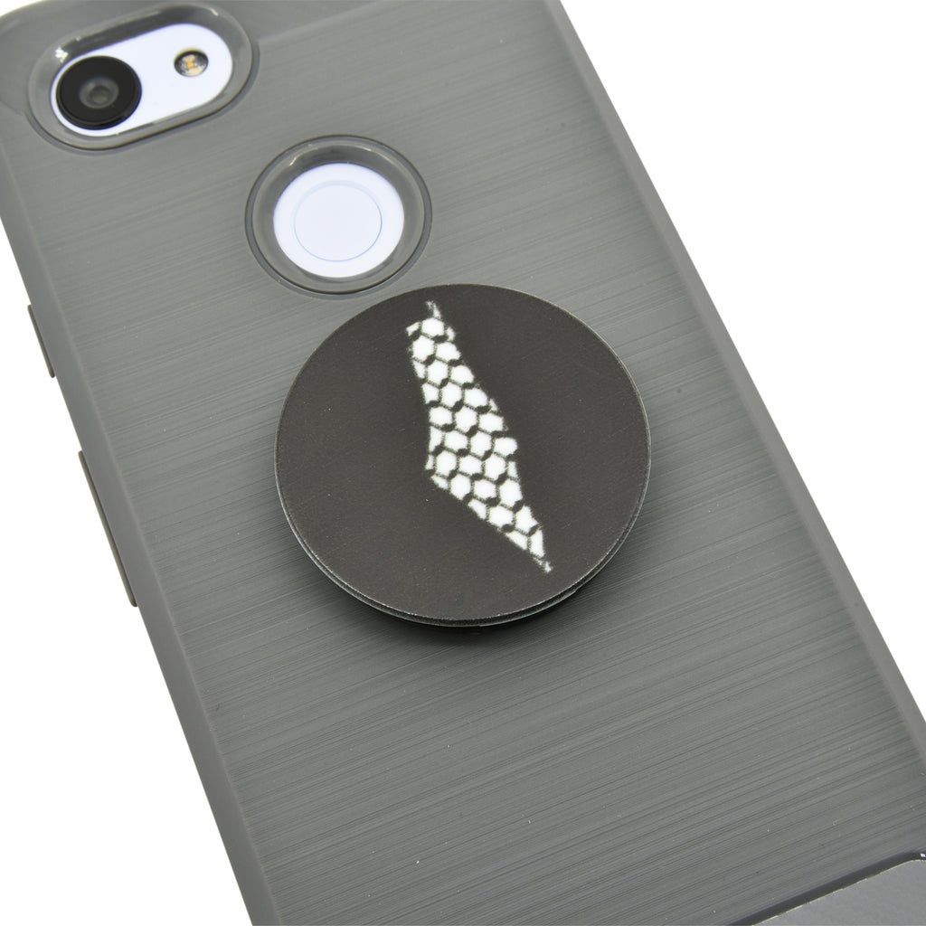 Palestine Kuffiyeh Map Cell Phone Grip