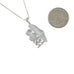 Silver Handala Palestine Map Necklace