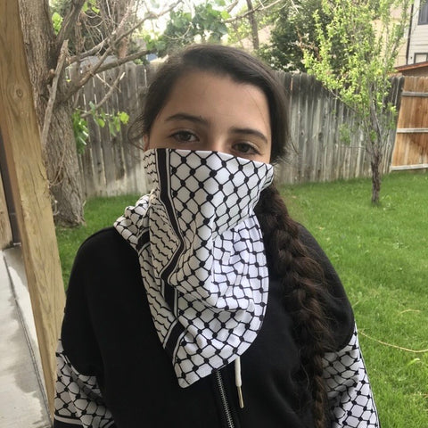 Kuffiyeh Gaiter Face Mask Cover