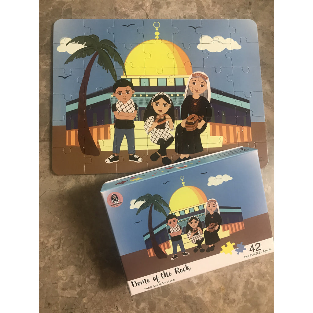 The Dome Of The Rock Puzzle