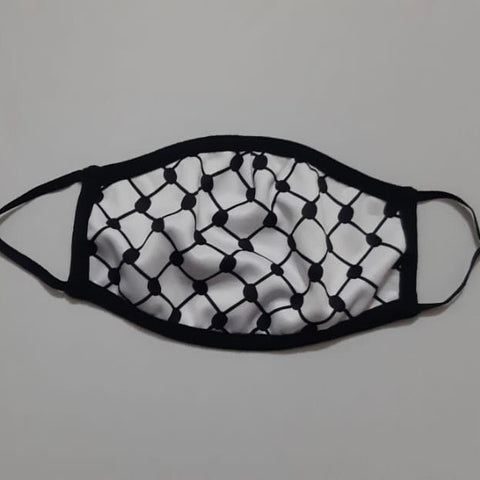 Kuffiyeh Adjustable Face Mask Cover