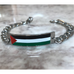 The Palestinian Flag ID Bracelet Large