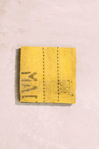 Yellow Fire Hose Coaster