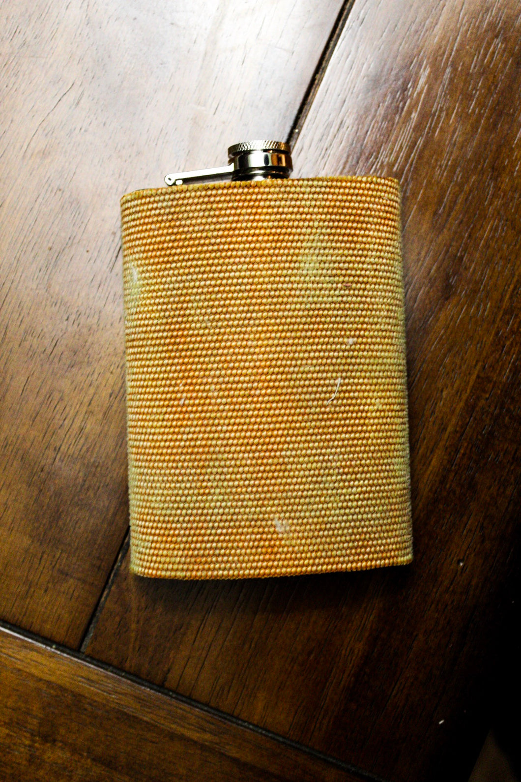 Orange Fire Hose Flask