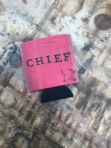 The Chief Can Cooler: Red