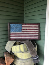Fire Hose American Flag, Small
