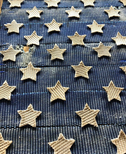 Fire Hose Stars for American Flag