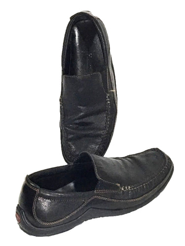 Cole Haan Tucker Venetian C035557 Black Slip On Driving Loafers Shoes Mens 9 M - Preowned - FunkyCrap Boutique