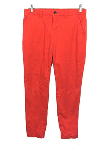 Gap Orange Broken In Straight Khakis Chinos Stretch Pants Womens 4 - Preowned - FunkyCrap Boutique