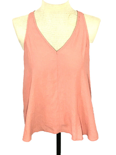 Silence Noise Urban Outfitters Peach Tank Top Open Back Flowy Womens Small LNWT - FunkyCrap Boutique