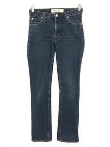 Gap Jeans Boot Cut Stretch Dark Wash Low Rise Womens 4 Size Long Actual 28 x 32 - Preowned - FunkyCrap Boutique