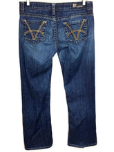 Kut From The Kloth Jeans So Low Bling Boot Cut Thick Stitch Stretch Womens 8 - Preowned - FunkyCrap Boutique