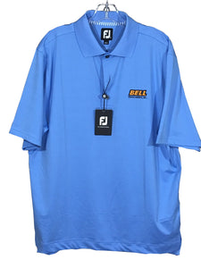 FootJoy FJ Blue ProDry Lisle Knit Collar Golf Polo Casual Shirt Mens Medium NWT - FunkyCrap Boutique