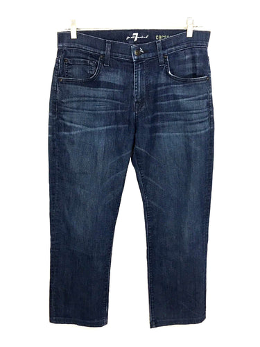 7 For All Mankind Carsen Straight Leg Stretch Jeans Mens 31 Actual 31x27 - Preowned - FunkyCrap Boutique