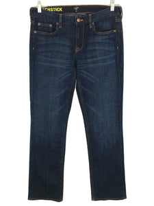 J Crew Jeans Matchstick Dark Wash Straight Leg Women's Size 29S 29 Short 31x29.5 - Preowned - FunkyCrap Boutique