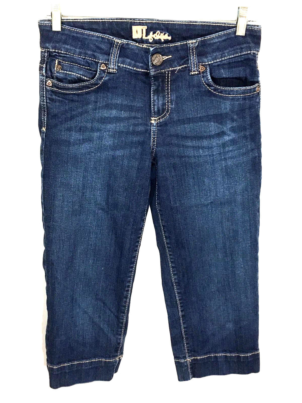Kut from the Kloth Capri Cropped Jeans Style KC035MA1 Womens 4 - Preowned - FunkyCrap Boutique