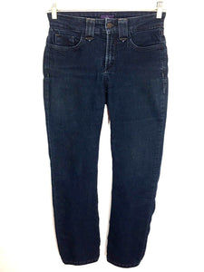 Not Your Daughter's Jeans NYDJ Dark Wash Straight Leg Women's 2 Petites - Preowned - FunkyCrap Boutique