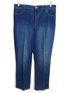 Not Your Daughter's Jeans NYDJ Lift Tuck Straight Stretch Womens 16P 16 Petites - Preowned - FunkyCrap Boutique