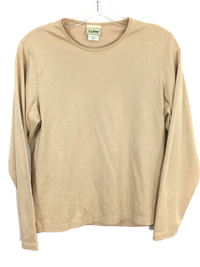 Vintage LL Bean Freeport Maine Casual Gold Crewneck Pullover Shirt Top Women's S - Preowned - FunkyCrap Boutique