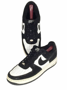 Nike Jordan Air Force 1 AF-1 '82 309096-101 Orca Tuxedo Shoes Sneakers Mens 10.5 - Preowned - FunkyCrap Boutique