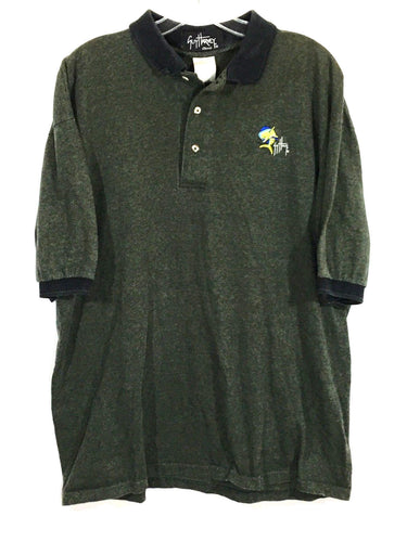 Guy Harvey Classic Mahi Mahi Dolphin Striped Polo Shirt Mens Large L - Preowned - FunkyCrap Boutique