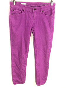 Gap Jeans 1969 Always Skinny Stretch Neon Violet Purple Womens 26 / 2r 2 Regular - Preowned - FunkyCrap Boutique