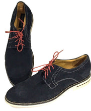 Nicola Benson Oxford 7402-31098 Blue Shoes Suede Laces Italy Men Euro 44 US 10.5 - Preowned - FunkyCrap Boutique