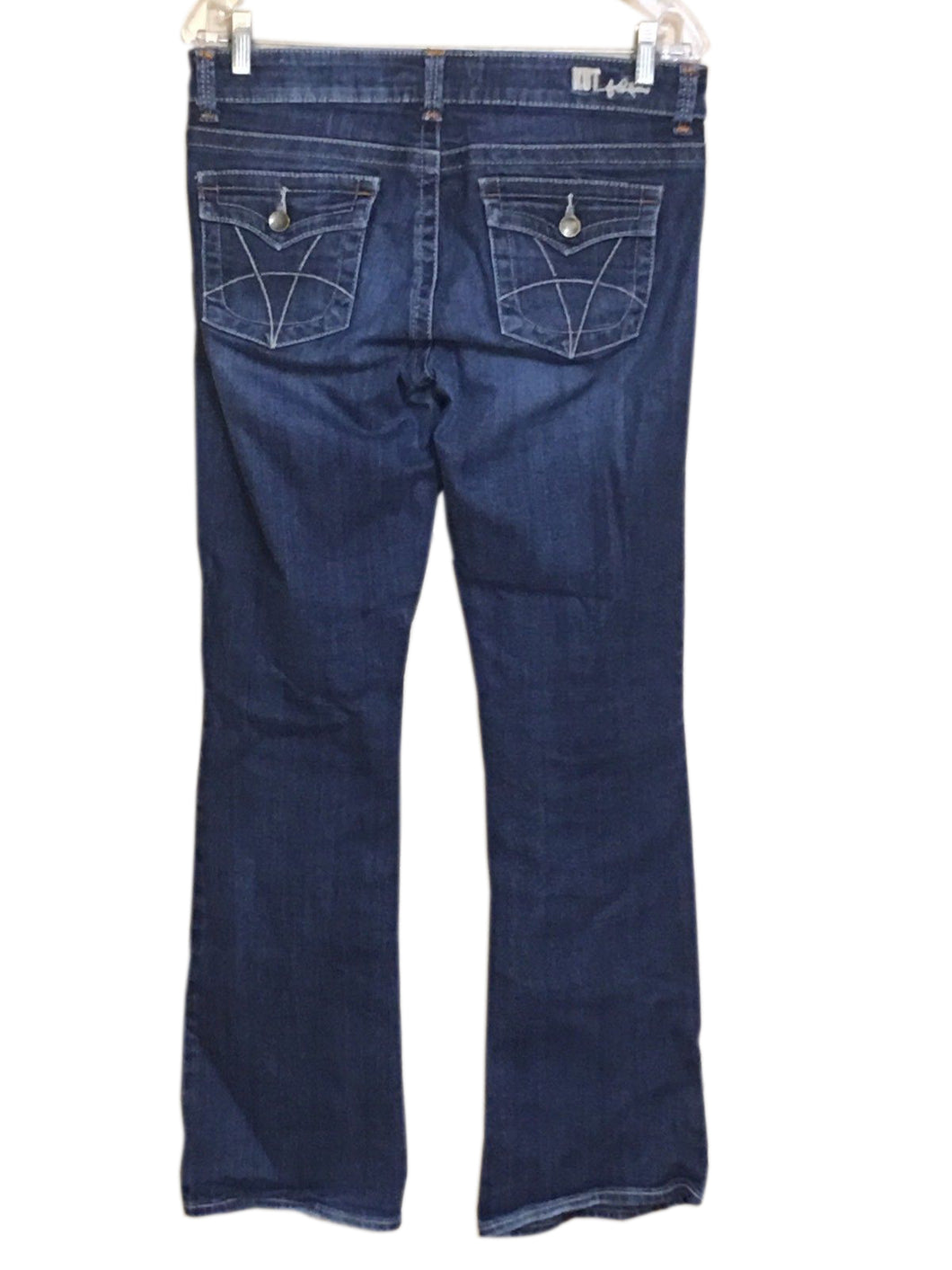 Kut From The Kloth Jeans Natalie High Rise Bootcut Flap Pocket KP881MA1 Womens 6-Preowned - FunkyCrap Boutique