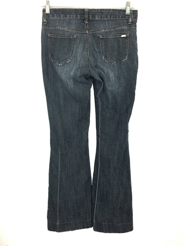 Guess Jeans Aliso Ultra Flare Dark Stretch Womens 26 Size 3 / 4 Actual 27 X 32 - Preowned - FunkyCrap Boutique