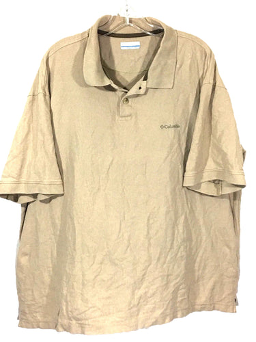 Columbia Sportswear Company Knit Cotton 2 Button Polo Casual Shirt Men's 2XL XXL - Preowned - FunkyCrap Boutique