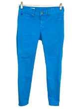 Gap 1969 Leggings Jeans Aqua Bright Blue Stretch Womens 24 / 00R Actual 24 x 27 - Preowned - FunkyCrap Boutique
