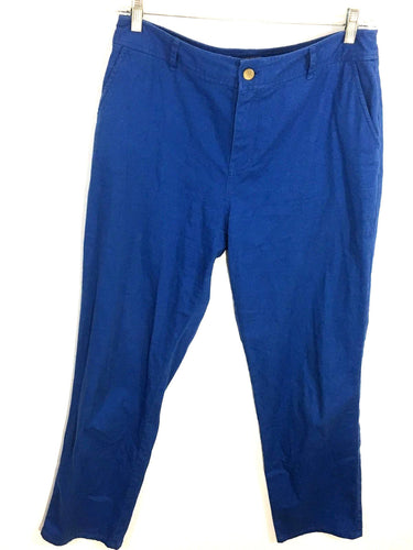 Pendleton Woolen Mills Pants Jeans Blue Stretch Womens 10 Actual 32 x 31 - FunkyCrap Boutique
