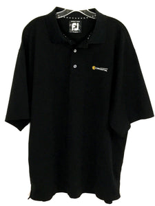 Footjoy FJ ProDry Pique Coresential Black All Polyester Polo Shirt Mens Size XL - Preowned - FunkyCrap Boutique