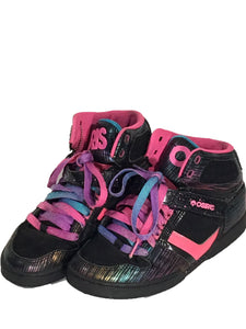 Osiris Bronx Slim Girls High Top Skateboard Skater Pink Shoes Womens 9 Mens 7.5 - FunkyCrap Boutique