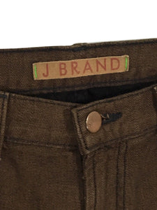 J Brand Jeans 914 GNG Cigarette Leg Dark Brown Stretch Womens 28 Actual 31 x 31 - Preowned - FunkyCrap Boutique