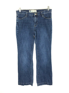 Gap Long and Lean Stretch Low Rise Jeans Medium Wash Womens 8 Actual 30 x 29.5 - Preowned - FunkyCrap Boutique