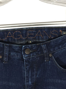 JAG Jeans J1702-16 Dark Wash Mid Rise Boot Leg Stretch Women's 8 Actual 28 x 31 - Preowned - FunkyCrap Boutique