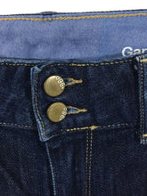 Gap 1969 Perfect Boot Dark Wash Jeans Stretch Womens 29 / 8 a - Preowned - FunkyCrap Boutique