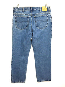 Lee Jeans Vintage USA Light Wash Straight Leg Mens Tag 35 x 30 Actual 33 x 29.5 - Preowned - FunkyCrap Boutique