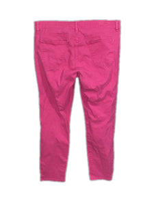 Kut From The Kloth Jeans Marilyn Ankle Length Pink Skinny Stretch Womens 12 - Preowned - FunkyCrap Boutique