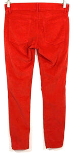 Gap Jeans 1969 Legging Jeans Stretch New Vermilion Red Womens 26 / 2 R 28 x 29 - Preowned - FunkyCrap Boutique