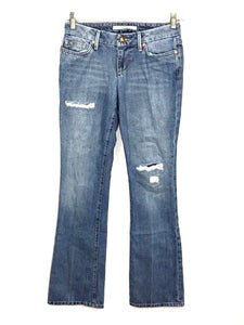 Joe's Jeans Honey Boot Cut Houston Light Distressed Ripped Destroyed Women 25 - Preowned - FunkyCrap Boutique