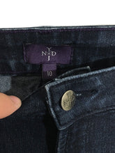 NYDJ Not Your Daught Jeans Boot Cut Lift Tuck Dark Wash Womens 10 Actual 28 x 29 - FunkyCrap Boutique