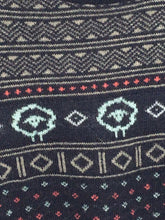 Woolrich Sheep Aztec Geometric Acrylic Nylon Wool Colorful Nordic Womens Large L - Preowned - FunkyCrap Boutique
