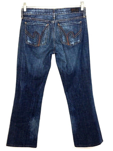 Citizens of Humanity Jeans Ric Rac #108 Low Waist Boot Cut Stretch Womens 27-Preowned - FunkyCrap Boutique