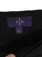 Not Your Daughters Jeans Linen Tencel Black Crop Capris Pants Lift Tuck Womens 6 - Preowned - FunkyCrap Boutique