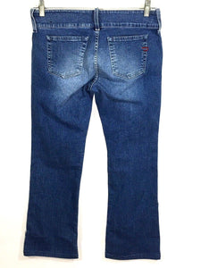 Diesel Jeans Cherone Italy Boot Cut Medium Wash Low Rise Womens 30 x 30 (29x27) - Preowned - FunkyCrap Boutique