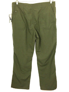 Woolrich Hickory Pass Pant Light Olive Hiking Convertible Nylon Pants Women's M - NWT - FunkyCrap Boutique